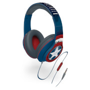 Marvel Captain America Kids' On-Ear Headphones