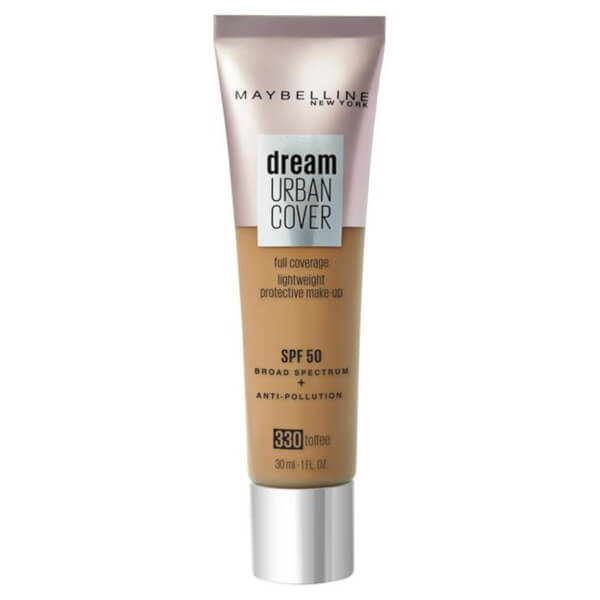 Купить Maybelline Dream Urban Cover SPF50 Foundation 121ml (Various Shades) - 330 Toffee
