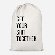 Get Your Sh*t Together Cotton Storage Bag