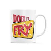 Does It Fry Logo Mug