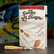 DC Comics Batman Harley Quinn Notebook and Baseball Pen