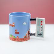 Nintendo NES Controller Shaped Mug