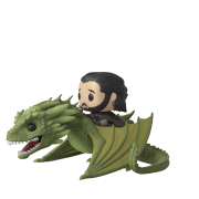 Game of Thrones Jon Snow with Rhaegal Pop! Ride