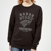Game of Thrones House Stark Womens Sweatshirt - Black - 5XL - Black