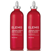 Купить Elemis Japanese Camellia Body Oil Blend 100ml Duo