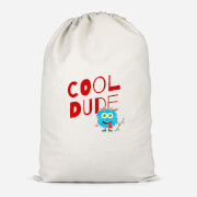 Cool Dude Skateboard Cotton Storage Bag   Small