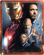 Iron Man - 4K Ultra HD (inclusief 2D Blu-ray) Zavvi Exclusive Steelbook