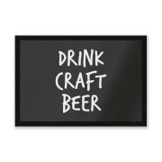 Drink Craft Beer Entrance Mat