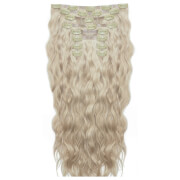 Beauty Works 18 Inch Beach Wave Double Hair Extension Set (Various Shades) - Champagne Blonde