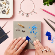 Personalised Silver Jewellery Making Workshop with Prosecco at Posh Totty Designs