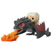 Figurine Pop! Ride : Daenerys sur Drogon (Flammes)