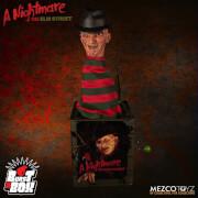 Boîte à ressort Freddy Krueger, Les Griffes de la nuit– Mezco