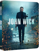 John Wick - 4K Ultra HD Steelbook Exclusif Zavvi (Blu-ray 2D inclus)
