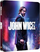 John Wick: Chapter Two – 4K Ultra HD Zavvi Exclusive Steelbook (Includes 2D Blu-ray)