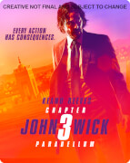 John Wick: Chapter 3 – Parabellum Zavvi Exclusive 4K Ultra HD Steelbook (Includes Exclusive Black Coin and Slipcase)
