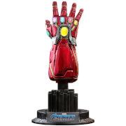 Réplique du Gant de l'infini Nano Avengers: Endgame, échelle 1:4 (19cm), Movie Promo Edition– Hot Toys
