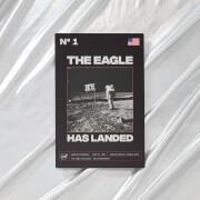 NASA Apollo 11 The Eagle Has Landed Metal Print