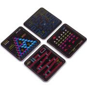 Retro Puzzle Coasters (Set of 4)
