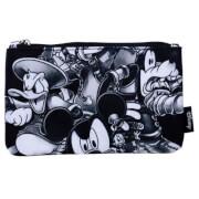 Disney Loungefly Kingdom Hearts Black & White Pouch