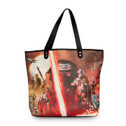 Loungefly Star Wars The Force Awakens Movie Poster Tote Bag