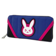Loungefly Overwatch D.Va Zip Around Wallet