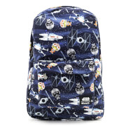 Loungefly Star Wars Chibi Ships Nylon Backpack