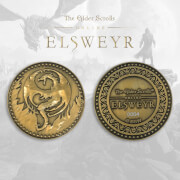 """Elder Scrolls """"Elsweyr"""" Collector's Limited Edition Coin: Silver Variant"""