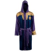 Marvel Thanos Outfit Fleece Bathrobe - Adult