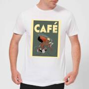 Mark Fairhurst Cafe Racer Men's T-Shirt - White - S - White