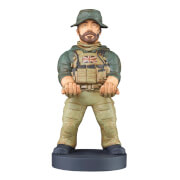 Call of Duty Collectible Captain Price 8 Inch Cable Guy Controller and Smartphone Stand