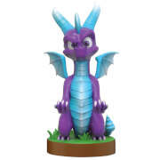 Figurine Support Chargeur Manette et Smartphone Spyro Ice 20 cm