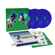 Data Discs - Sonic CD (aka Sonic The Hedgehog) Original Video Game Soundtrack 3xLP