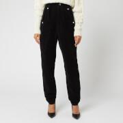 Isabel Marant Women's Derrisy Trousers - Black - FR 42/UK 14