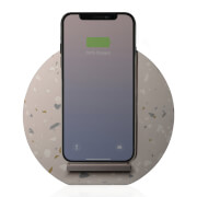 Native Union Terrazzo Wireless Dock - Rose