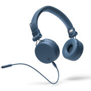 Mixx OX1 Wired 3.5mm Stereo Headphones - Blue