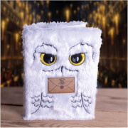 Hedwig A5 Plush Notebook