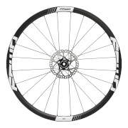 FFWD Fast Forward F3 DT240 Disc Brake Clincher Wheelset - Shimano - Black/White