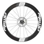 FFWD Fast Forward F6 DT240 Disc Brake Clincher Wheelset - Shimano - Black/White