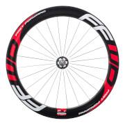 FFWD Fast Forward F6T Track Front Tubular Wheel - Red