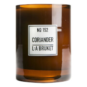L:A BRUKET Large Coriander Scented Candle 260g