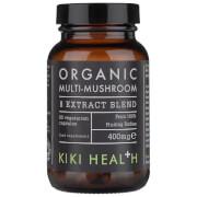 KIKI Health Organic Multi-Mushroom 8 Extract Blend (60 Vegicaps)