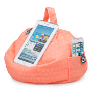 iBeani iPad Tablet, eReader Bean Bag Stand - Coral Geo
