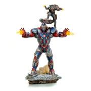 Iron Studios Avengers: Endgame BDS Art Scale Statue 1/10 Iron Patriot and Rocket 28cm