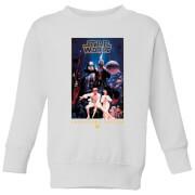 Sweat à capuche Star Wars Collector's Edition - Enfant - Blanc