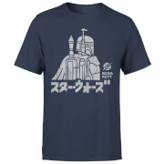 Star Wars Kana Boba Fett Men's T-Shirt - Navy