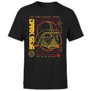 Star Wars Darth Vader Grid Men's T-Shirt - Black