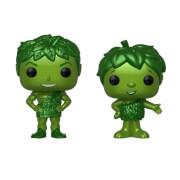 Green Giant & Sprout Metallic EXC Pop! Vinyl Figures 2-Pack