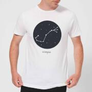 Scorpio Mens T-Shirt - White - XXL - White