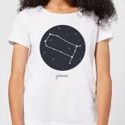 Gemini Womens T-Shirt - White - XS - White