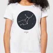 Virgo Womens T-Shirt - White - XXL - White
